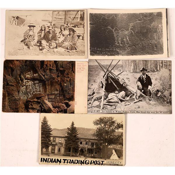 Native American Utah Postcards  [138949]
