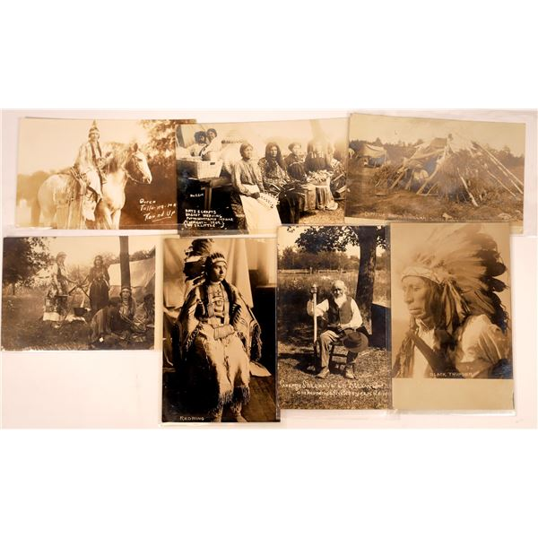 Real Photo Postcards of Native Americans  [137594]