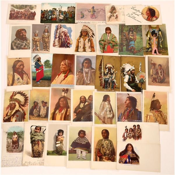 Early Native American Postcards  [137591]