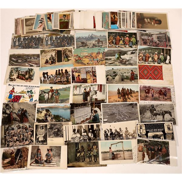 Southwestern Native American Postcard Collection  [137587]
