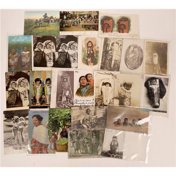 Native American Children Postcard Collection  [137589]