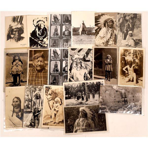 Native American Postcard Group  [137582]