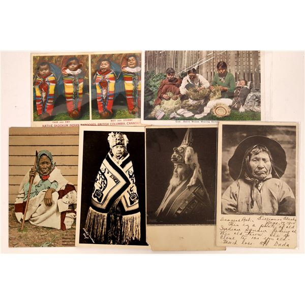 Native American Postcards of the Pacific Northwest  [137592]