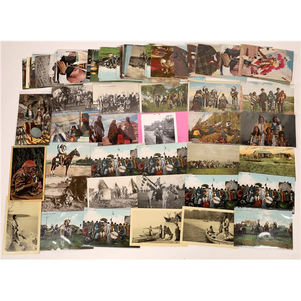 Native American Tribes Postcard Collection  [137588]