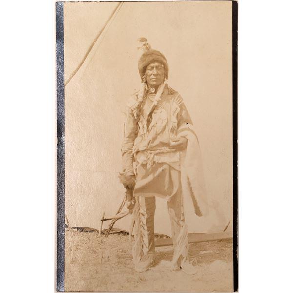 Native American Elder Real Photo Postcard  [135742]