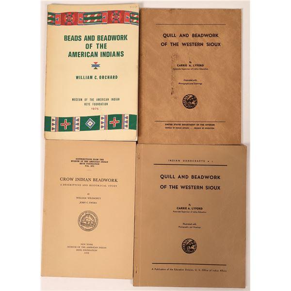 Indian Beadwork Books (4)  [135960]