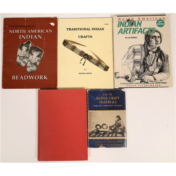 American Indian Artifacts Reference Group (5 Volumes)  [136722]