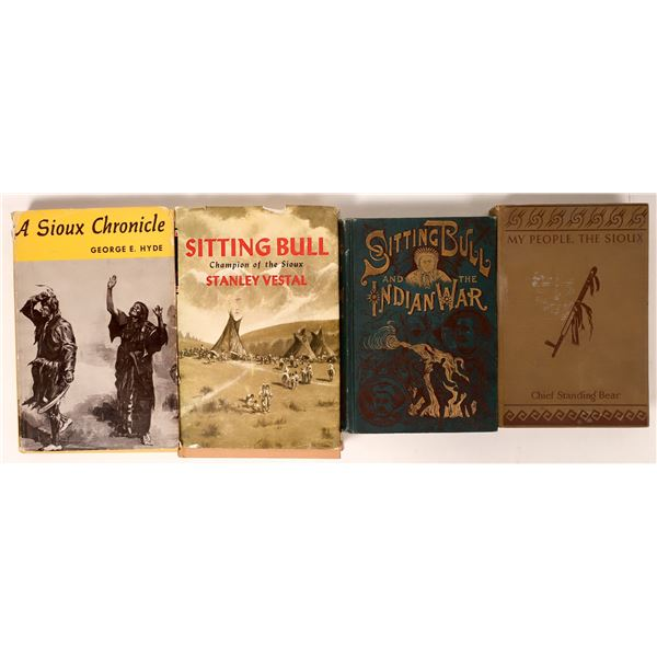 Sitting Bull and Sioux Books (4)  [135964]