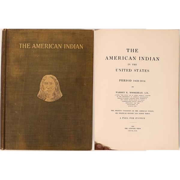 The American Indian, Moorehead w maps  [136808]