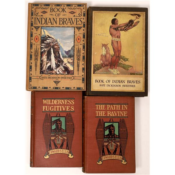 American Indian Fiction and Non-Fiction Books (4)  [135962]