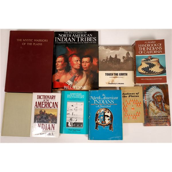 American Indians General Reference Works (10 Volumes)  [136721]