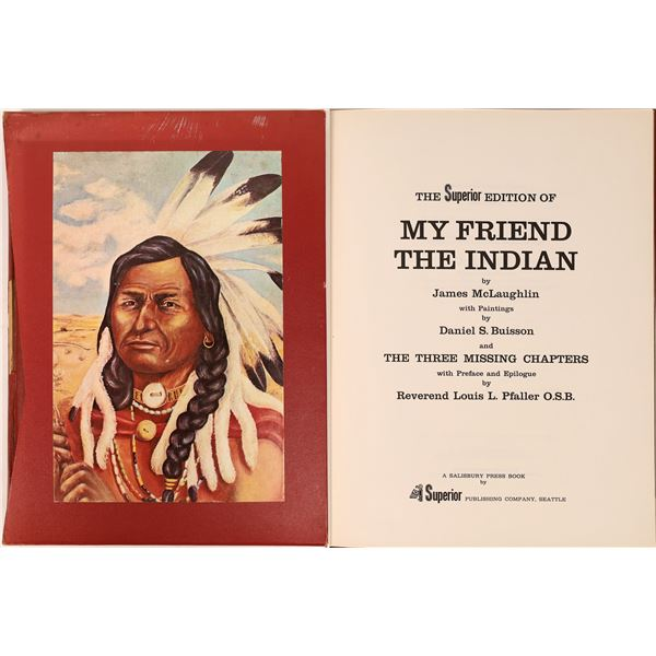 """""""My Friend the Indian"""" Rare Book   [131628]"""