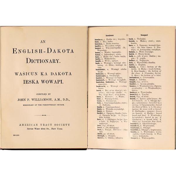 English-Dakota Dictionary  [135859]