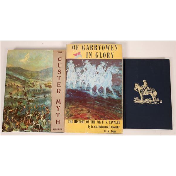 George A. Custer Book Trio  [136828]