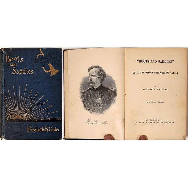 Boots & Saddles, Elizabeth Custer Biography of George Custer  [135901]