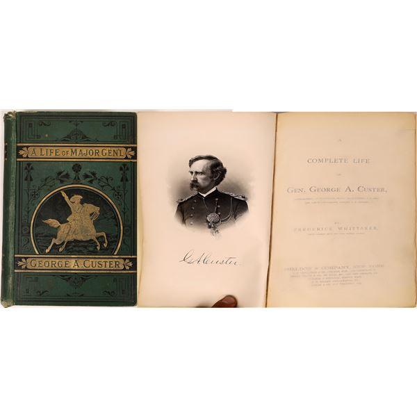 A Life of Major Gen'l George A. Custer  [135861]