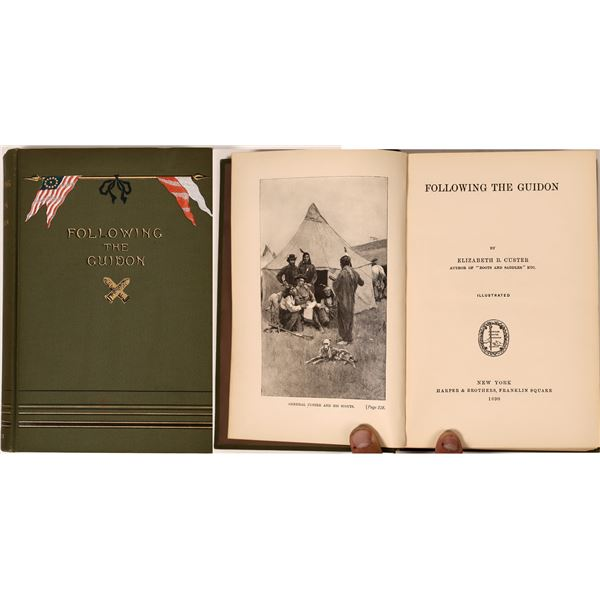 Following the Guidon, Indian Wars (First Edition)  [135841]