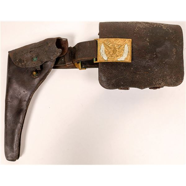 George Armstrong Custer Civil War Holster and Dispatch Case  [131566]
