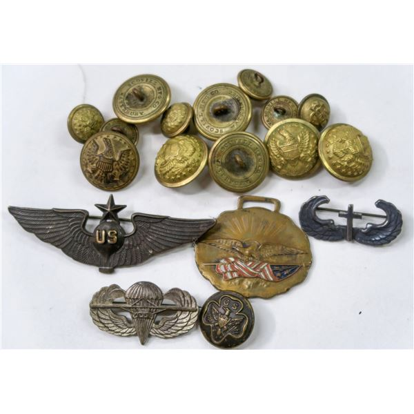 Civil War Coat Buttons by Scovill and Mintzer  [137722]