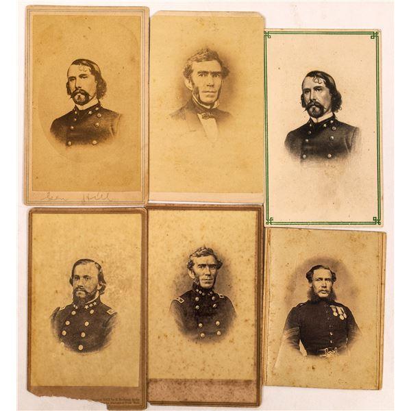 Civil War General CDV Collection  [134167]
