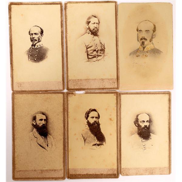 Confederate Generals CDV Group  [134175]