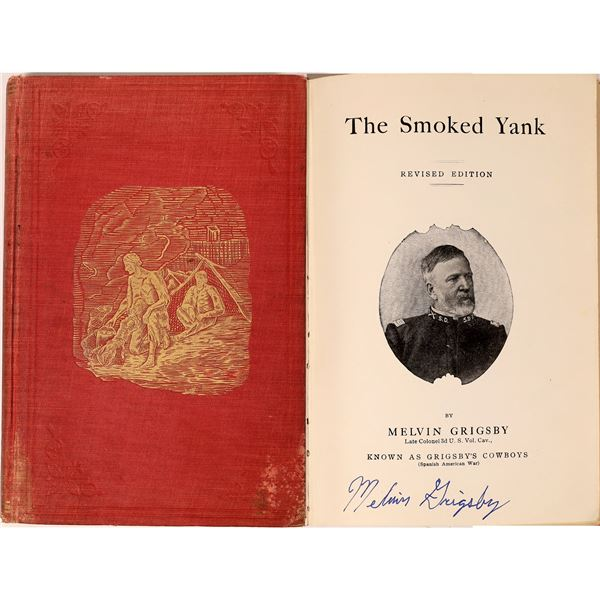 """""""The Smoked Yank"""" Autographed by Author  [135842]"""
