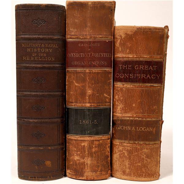 Civil War History Trio of Books  [135840]