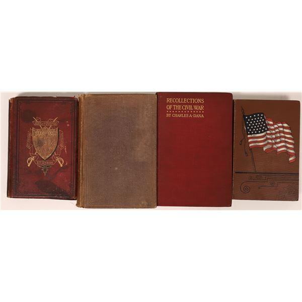 Four Books on Civil War Experiences  [136792]