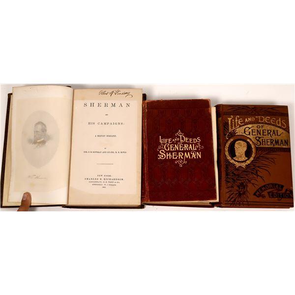 General Sherman Biographies (3)  [136814]