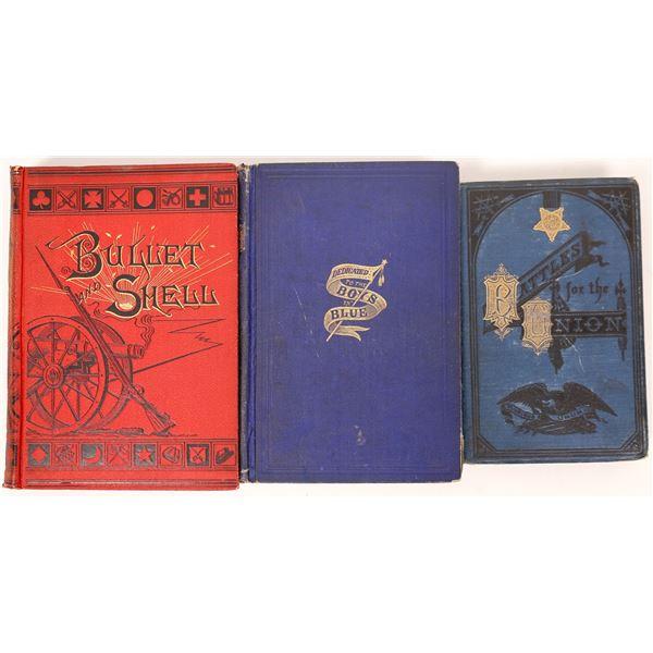 Three Civil War Books  [136816]