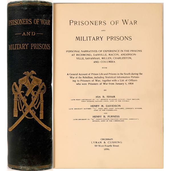 """Prisoners of War and Military Prisons"" Civil War  [135848]"