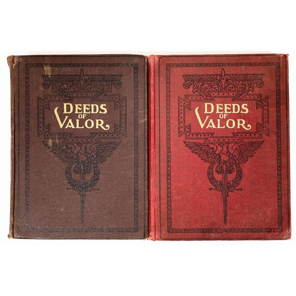 Deeds Of Valor a book From Records in the Archives of the U.S. Goverment  [137732]