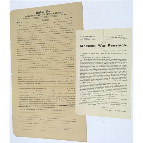 Mexican War Pension Applications  [135904]