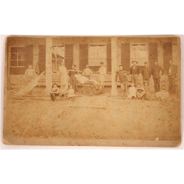Military Hospital Photograph 1880's  [137735]