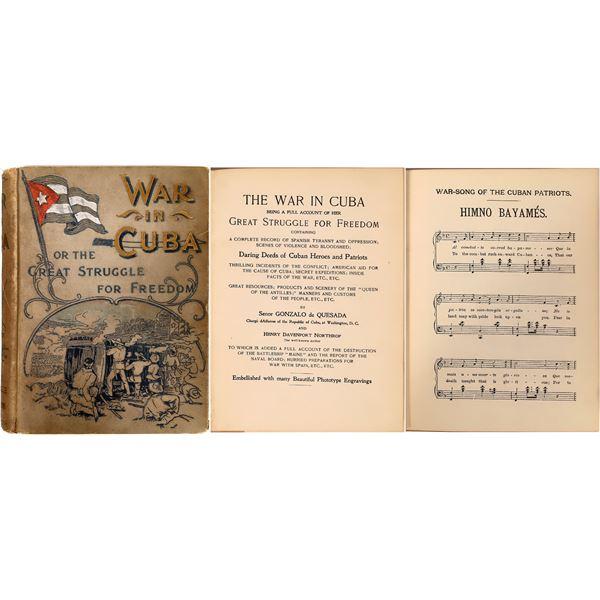 War in Cuba by Gonzalo de Quesada & Henry Davenport Northrop  [136781]