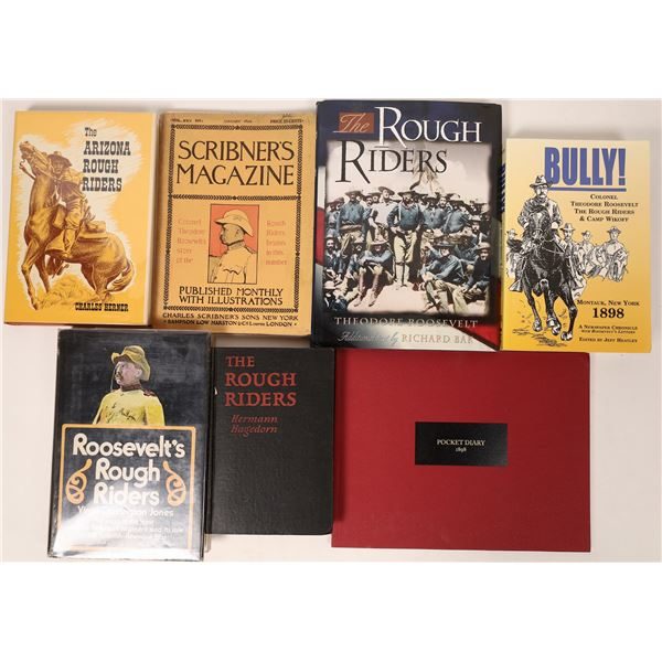 Seven Books on Teddy's Rough Riders  [136785]