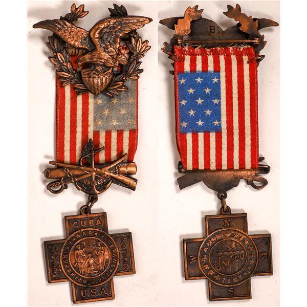 Spanish American War Veteran's Medal   [137528]