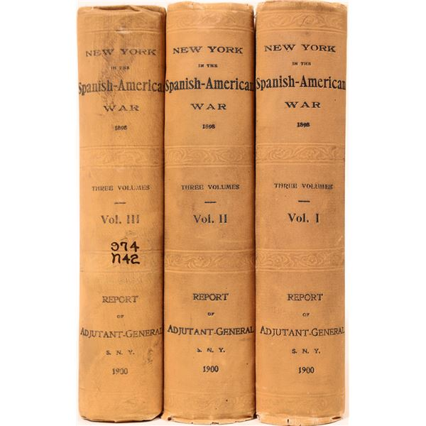 The Spanish American War in Three Volumes  [136790]