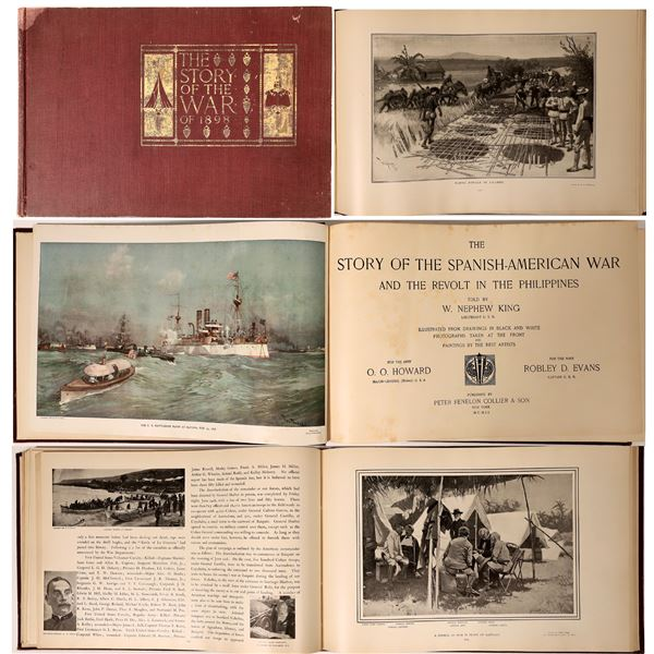 The Story of the War of 1898  [136001]