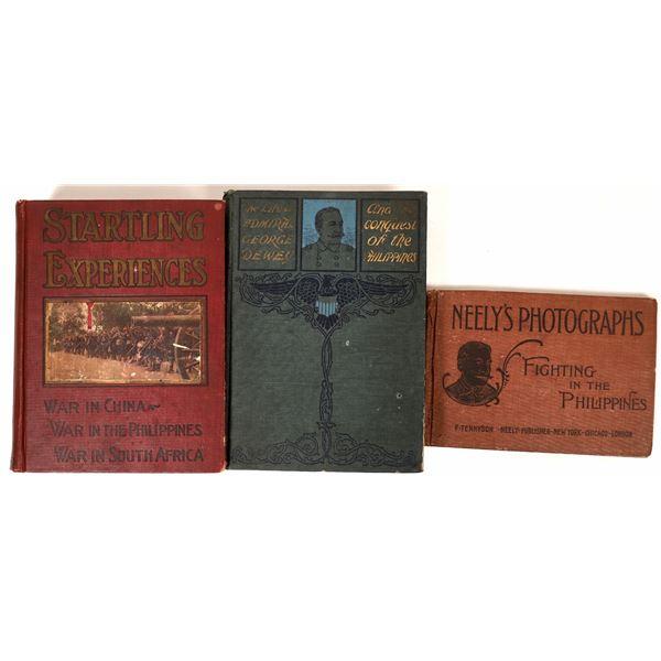 War in the Philippines Book Trio  [136789]
