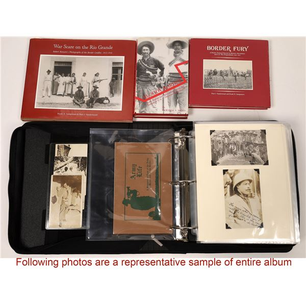 Photo Diary of Pancho Villa by W.H. Horne, with 3 Books on the Mexican Revolution  [133775]