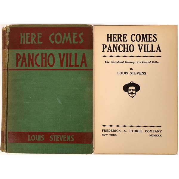 """""""Here Comes Pancho Villa"""" by Louis Stevens  [136823]"""