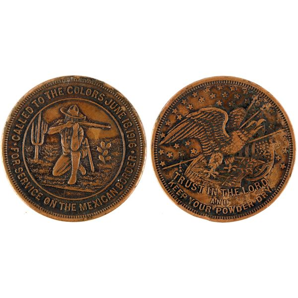Called To Service Coin- Defending the Mexican Border of the United States  [137726]