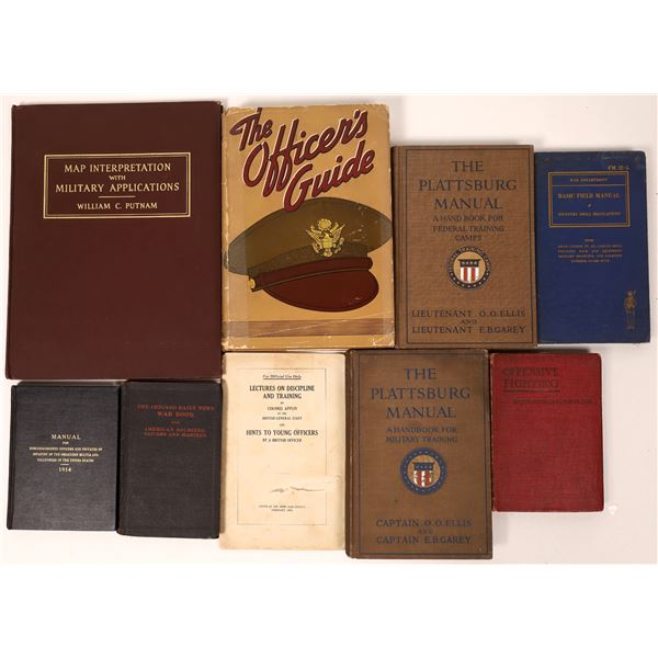 Military Instructional Book Collection (9)  [136799]
