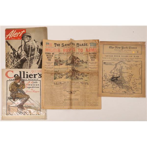 WWI Magazine Memorabilia  [136908]