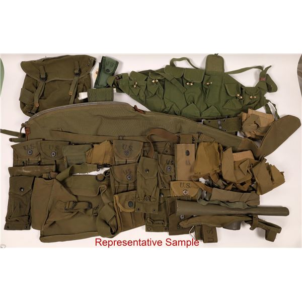 WWII and Korean War Infantry Canvas Items  [137470]