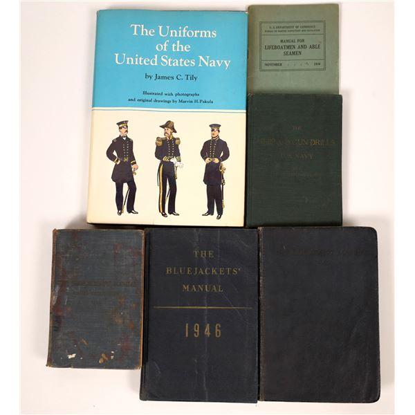 US Navy Blue Jacket Manuals & More  [136800]
