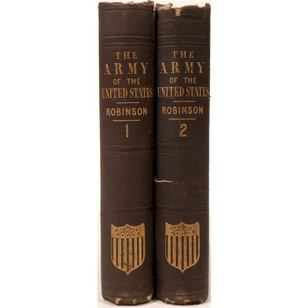 """""""The Men & Officers of the Army"""" Two-Volumes  [135980]"""