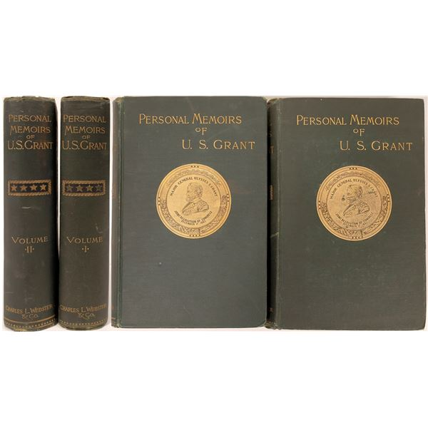 Personal Memoirs of U.S. Grant 1st Edition (2 volumes)  [136793]