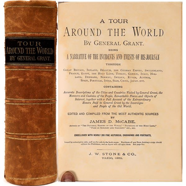 """""""Tour Around the World"""" by General Grant  [136819]"""
